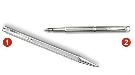 Stylo bille et stylo plume Caran d'Ache