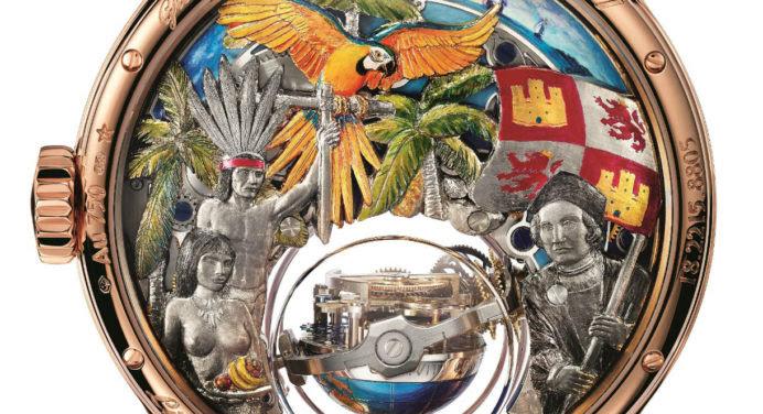 Zenith : une incroyable montre dédiée à Christophe Colomb