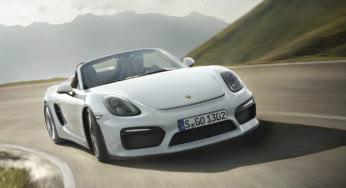 Porsche Boxster Spyder : un cabriolet de toute beauté