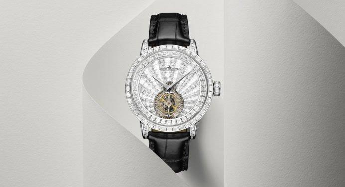 Tourbillon de lumière pour la nouvelle montre Jaeger-LeCoultre
