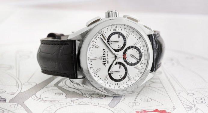 Alpiner 4 Chronographe Manufacture Flyback : Alpina dégaine son nouveau calibre