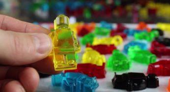 Comment fabriquer des Lego en bonbons ?