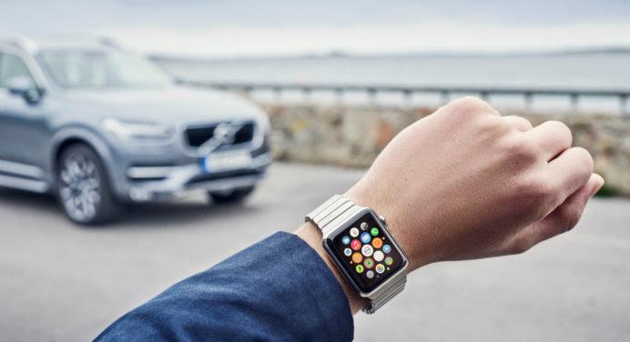 On peut contrôler sa voiture à distance avec l'Apple Watch