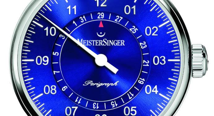 La Perigraph de MeisterSinger se met au bleu