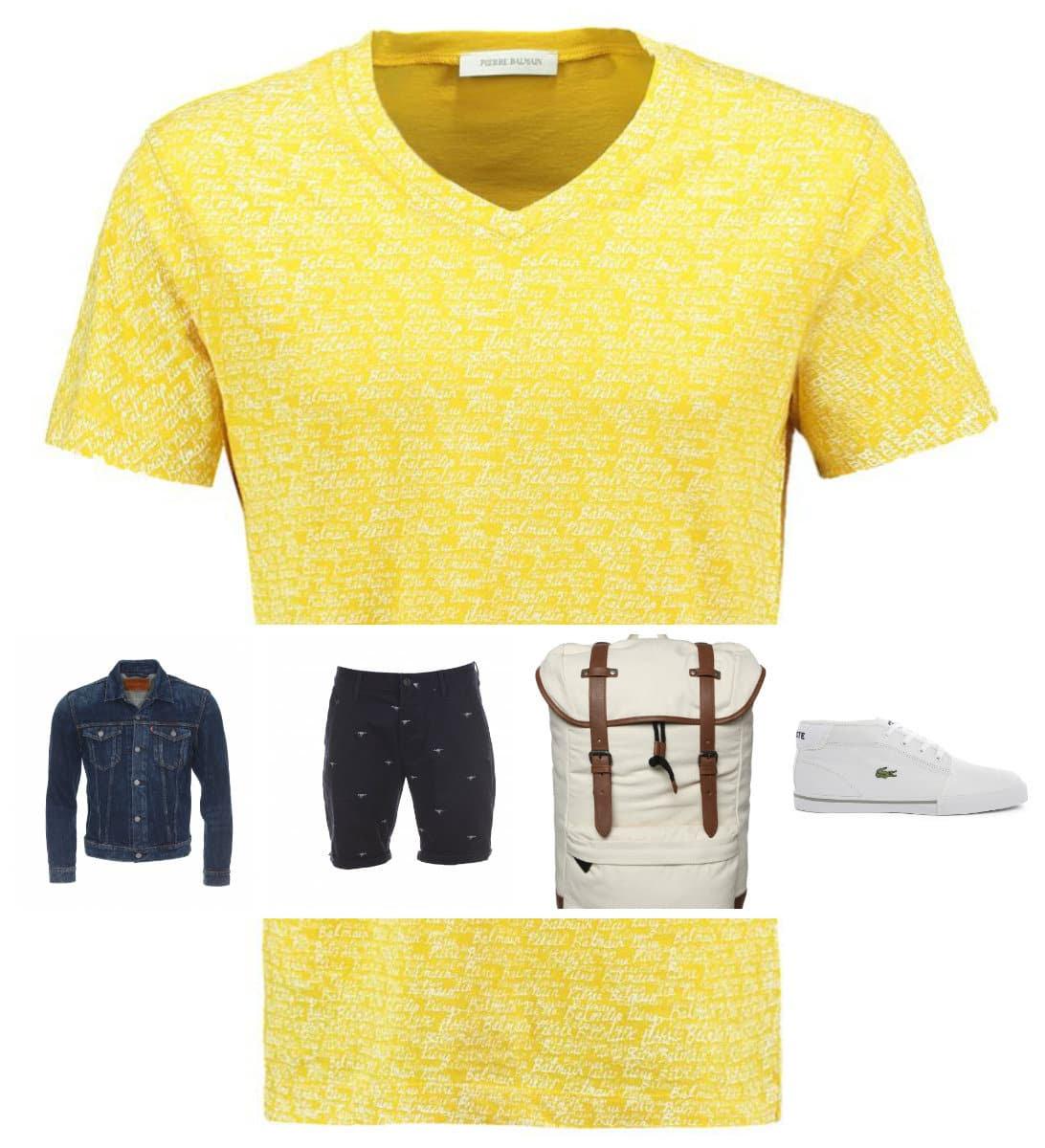 Idée de look pour bien porter du jaune