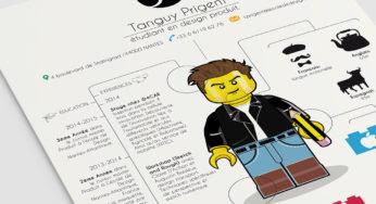 Ce jeune homme a créé un CV Lego génial