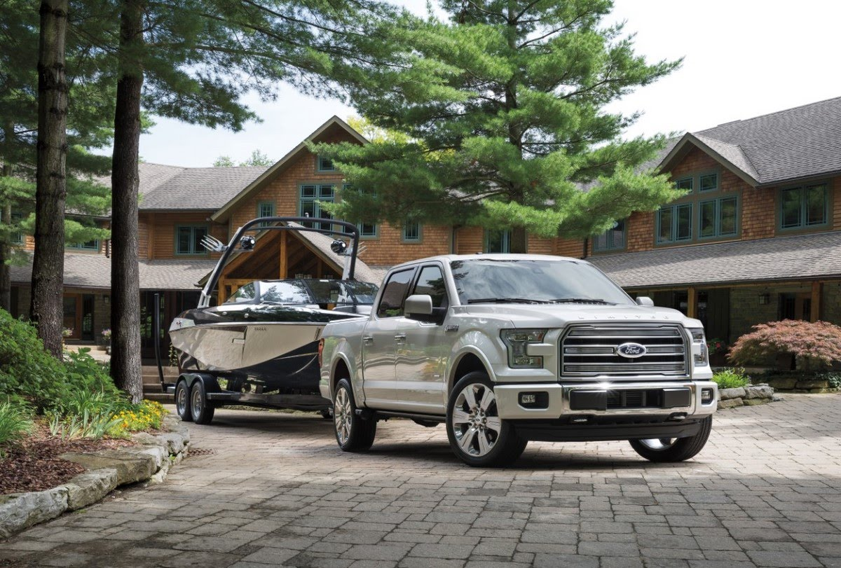 Nouveau pick-up Ford F-150 Limited
