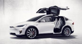 Tesla Model X : un crossover spectaculaire