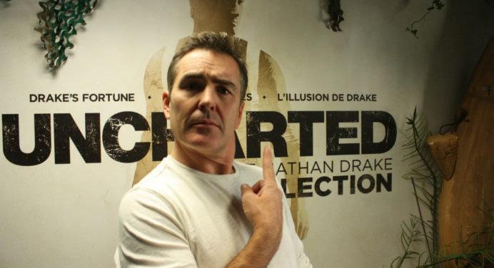On a rencontré Nathan Drake !