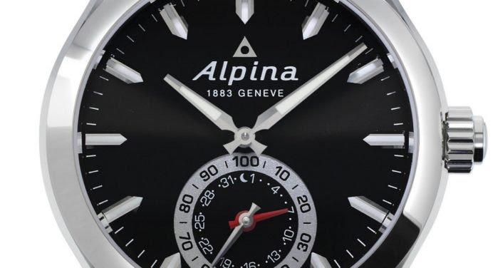 On a testé la montre connectée de luxe d'Alpina