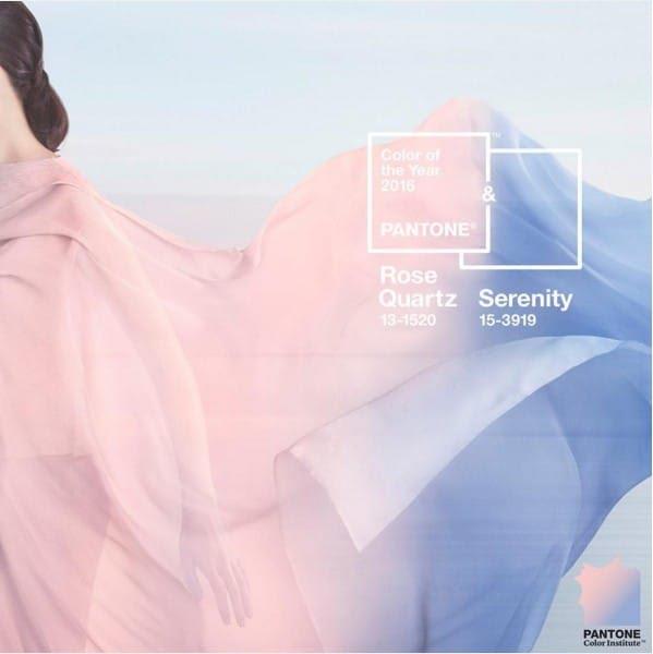 Rose Quartz et Bleu Serenity, les couleurs Pantone 2016