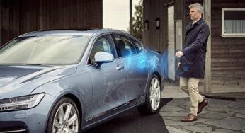 Volvo lance la première voiture sans clé