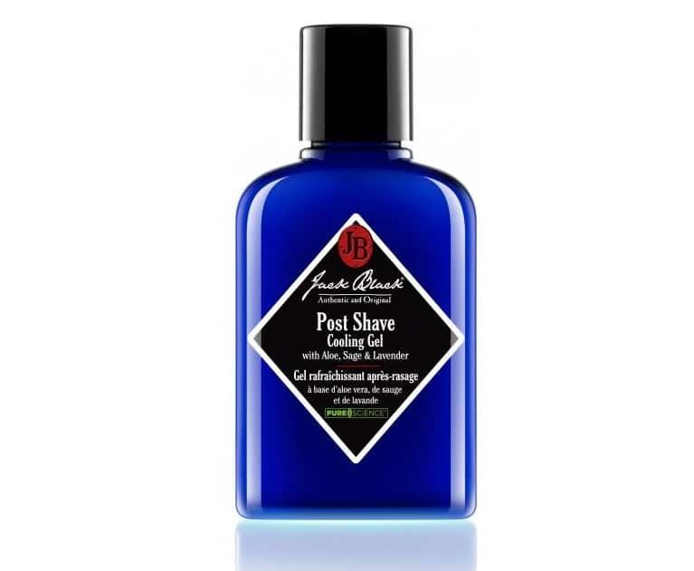 Meilleurs produits de beauté pour homme - Gel rafraichissant après-rasage Jack Black