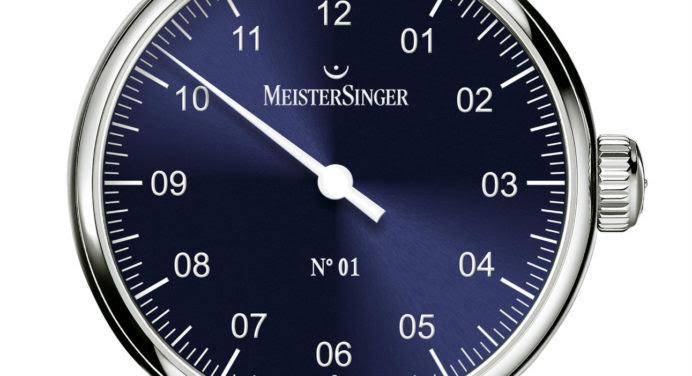Baselworld 2016 : MeisterSinger passe en mode bleu