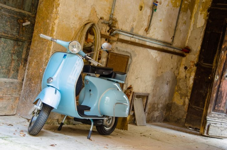 La Vespa, un scooter inimitable