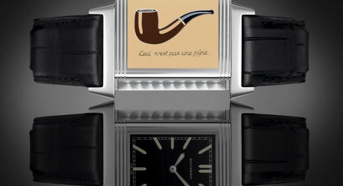 Jaeger-LeCoultre Reverso x Magritte : ceci est une montre