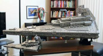 Un vaisseau Star Wars en Lego de plus 30 kilos !