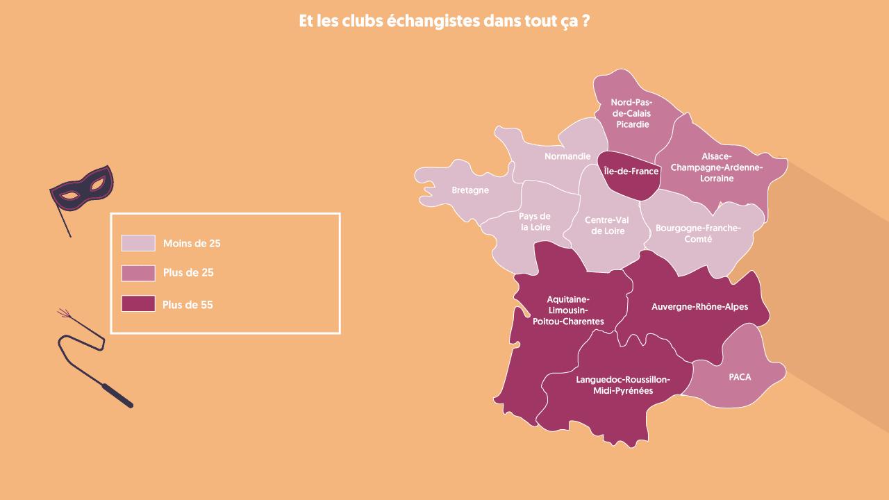Clubs échangistes en France