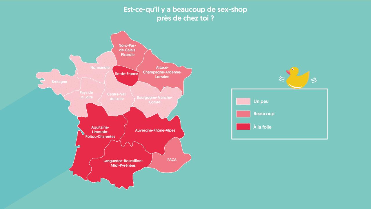Sex shops en France