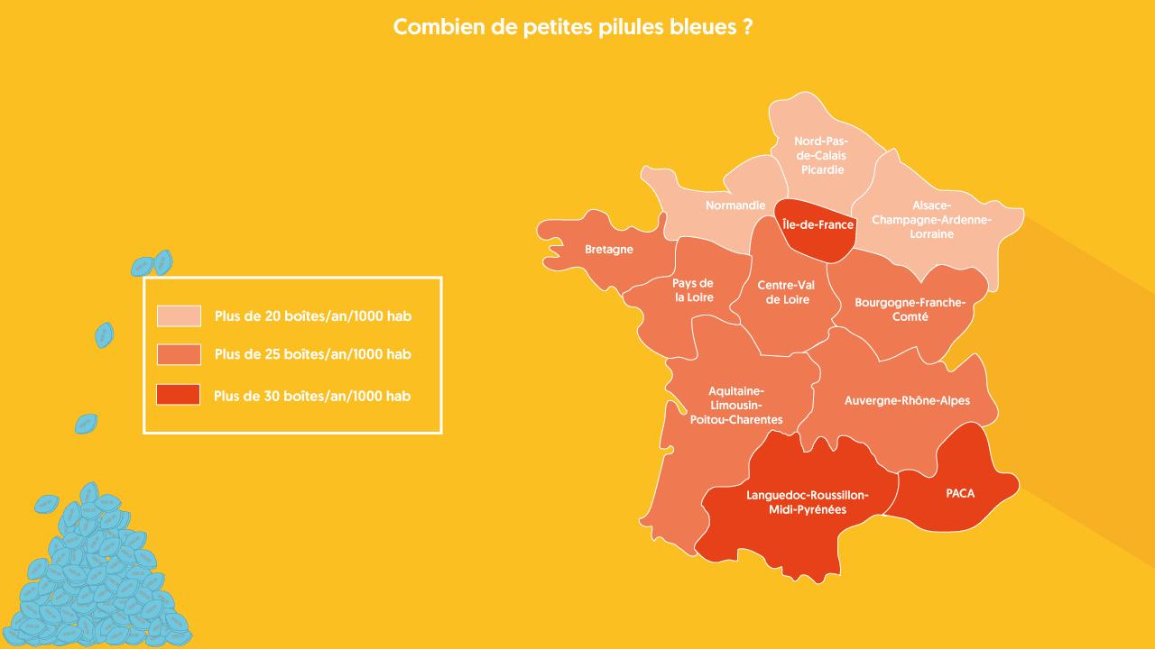 Consommation de Viagra en France
