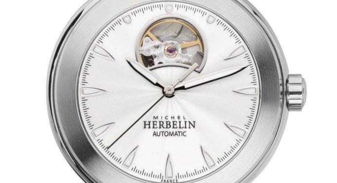 Michel Herbelin : une nouvelle montre Newport à coeur ouvert