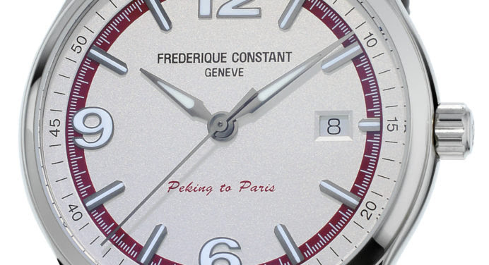 Frédérique Constant dévoile sa nouvelle montre dédiée au rallye Pékin-Paris