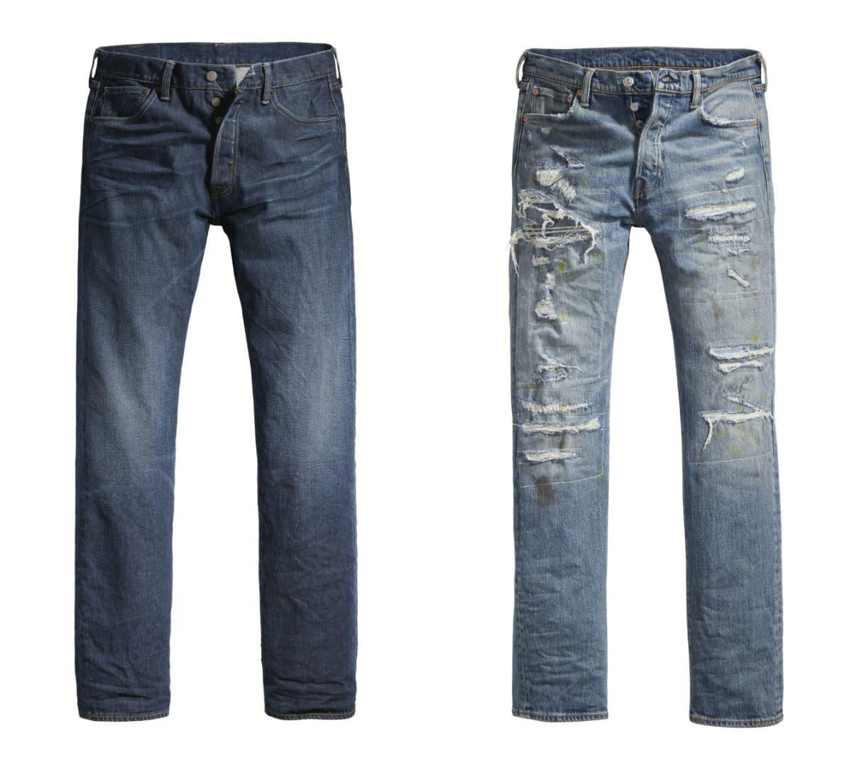 Nouveaux jeans Levi's 501 Stretch