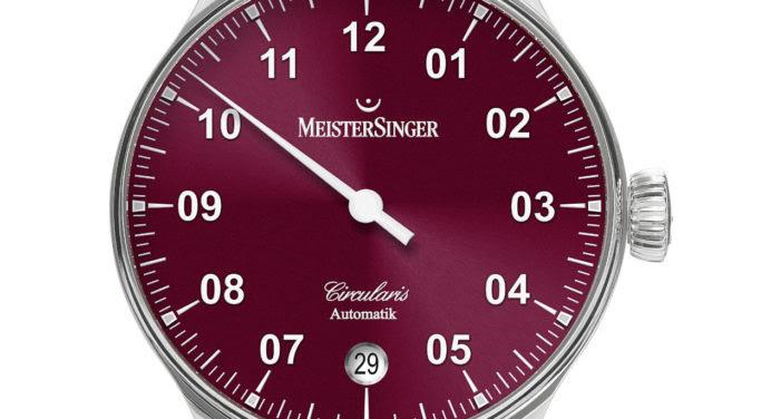 MeisterSinger Circularis : une nouvelle génération de montre automatique
