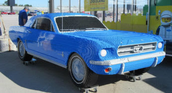 Une incroyable Ford Mustang '64… recréée en Lego !
