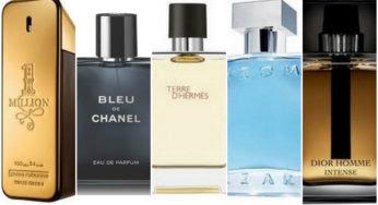 Les 10 parfums pour homme les plus vendus en 2016