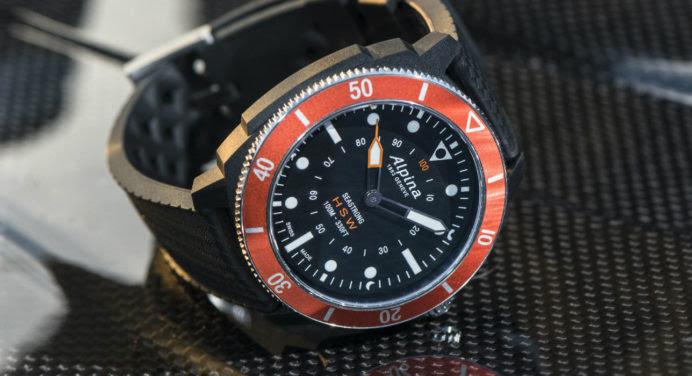 Seastrong Horological Smartwatch : Alpina dégaine la montre de plongée… connectée !