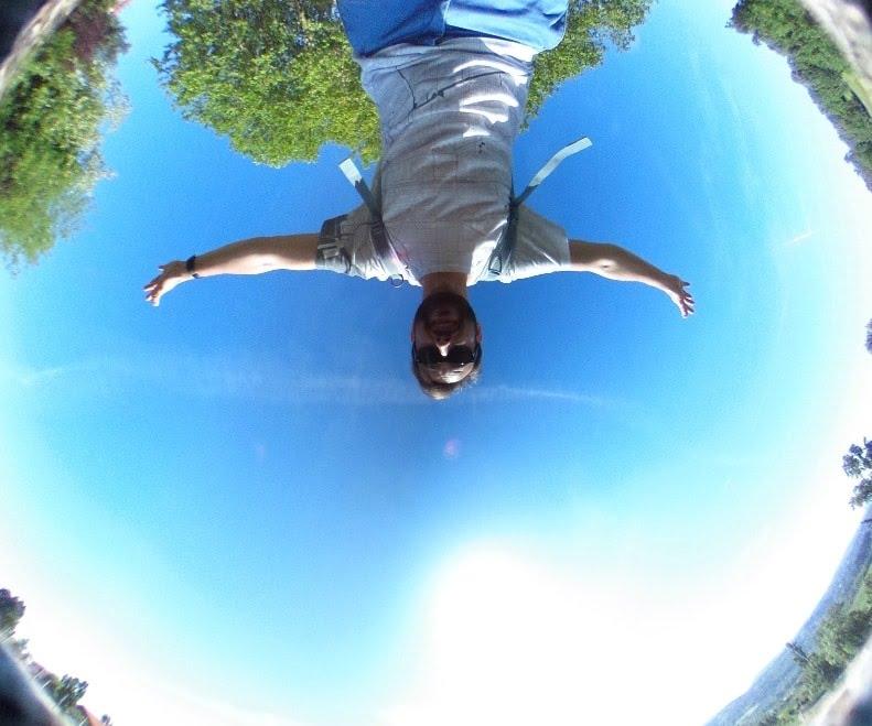 Photo prise avec le Ricoh Theta S après traitement 360°