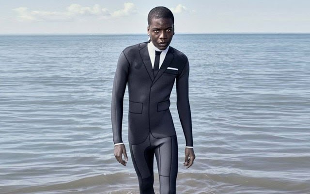 Costume de surf Thom Browne