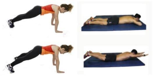 Séance de musculation gainage et running : échauffement