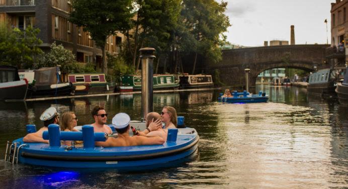 Voyage insolite à Londres… dans un bateau jacuzzi !