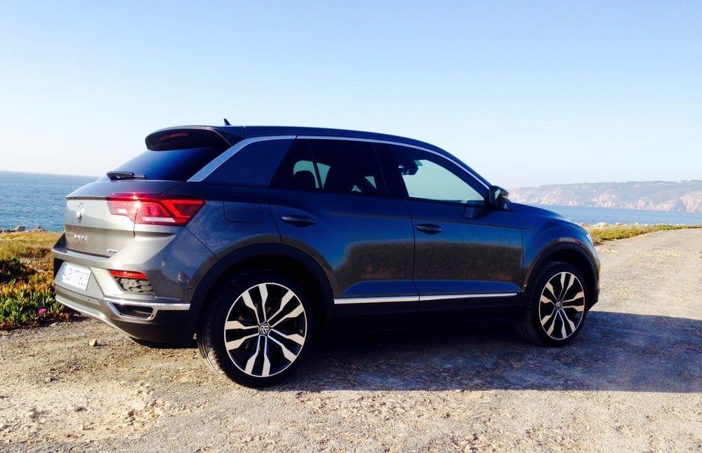 Essai du VW T-Roc à Lisbonne