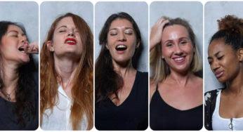 Des femmes photographiées en pleine séance de masturbation
