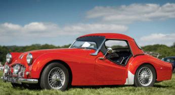 Triumph TR3 : la sportive pure et dure