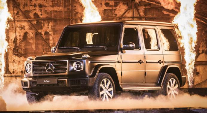 Nouveau Mercedes Classe G : le changement, c'est maintenant