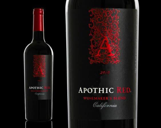 Vin californien Apothic Red