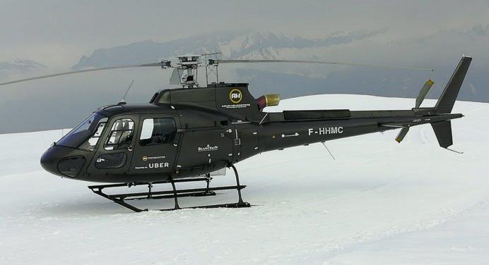 Réservez votre hélicoptère pour partir en vacances au ski