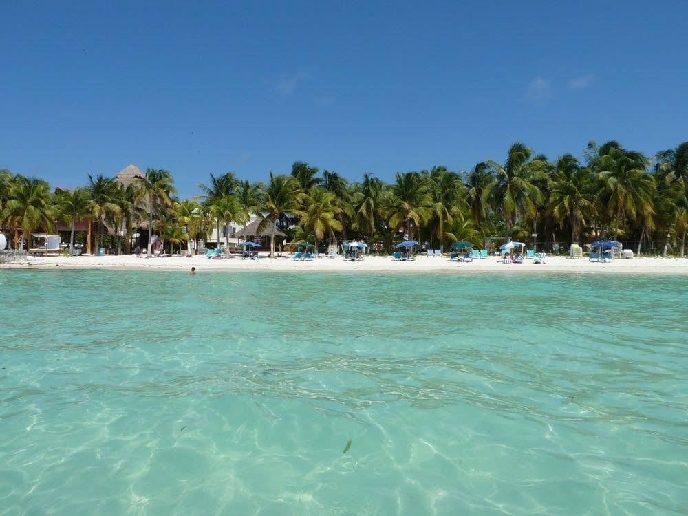 Playa Norte, Isla Mujeres, Mexique