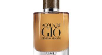 Acqua Di Gio Absolu de Giorgio Armani : la classe absolue