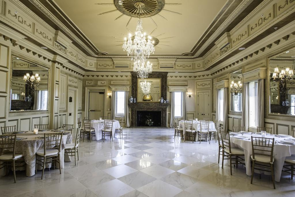 Salle de restaurant du Kentucky Castle