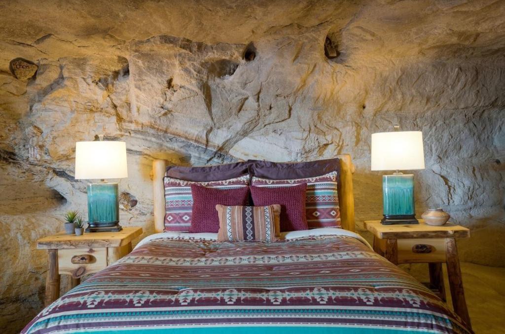 Kokopelli's Cave, hôtel insolite au Nouveau-Mexique