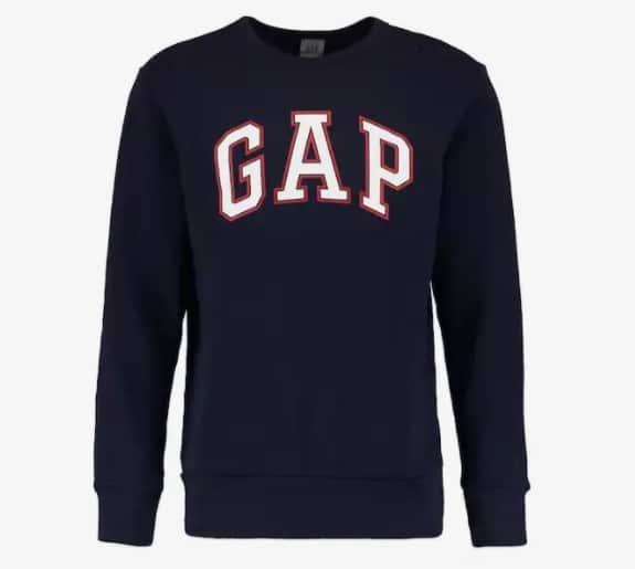 Sweatshirt Gap Logo Arch Crew : 29,95€