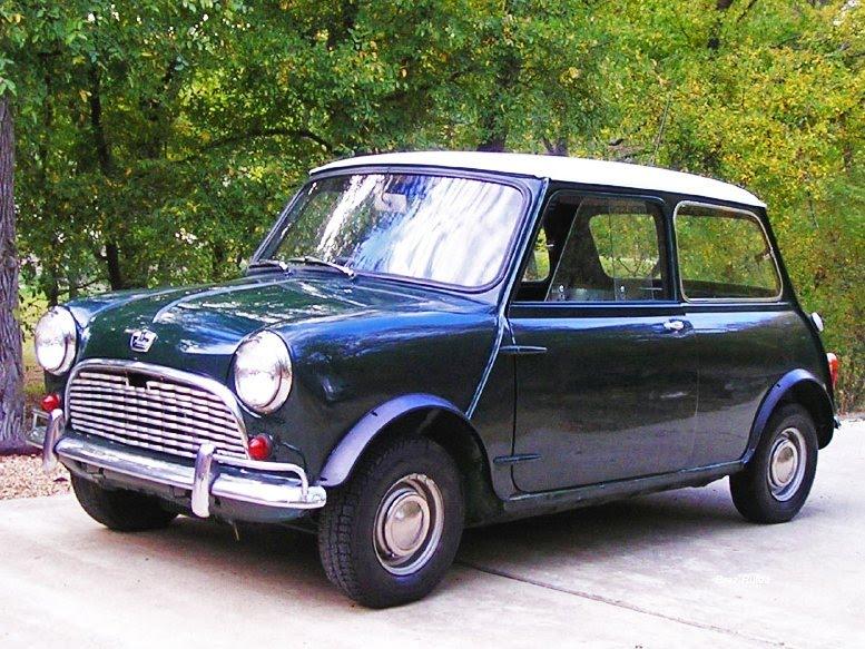 Plus belles voitures de collection - Austin Mini Super-Deluxe, 1963