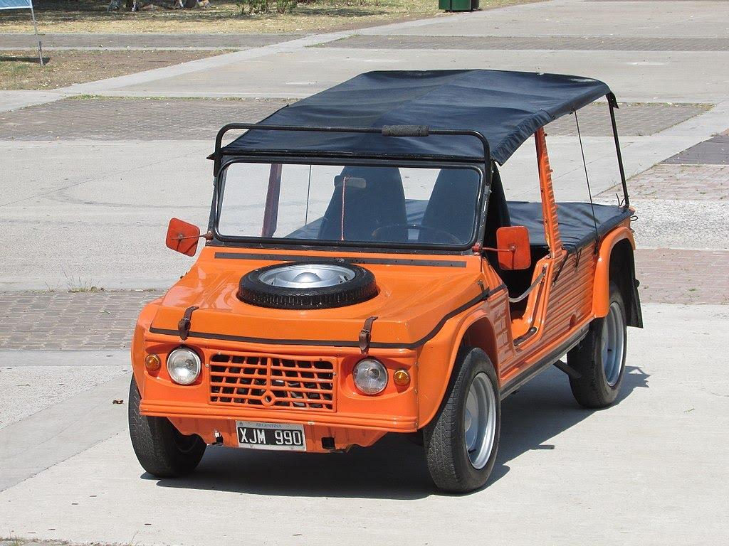 Plus belles voitures de collection - Citroen Mehari Ranger