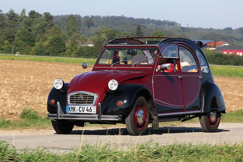 Plus belles voitures de collection - Citroën 2CV Charleston