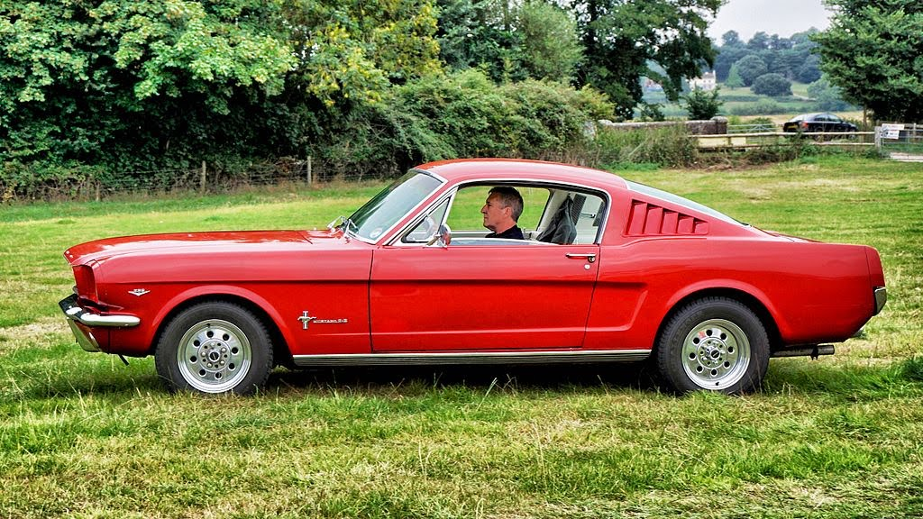 Plus belles voitures de collection - Ford Mustang I